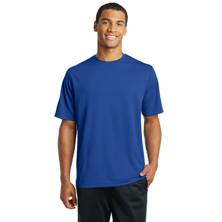 Sport-Tek Men's PosiCharge RacerMesh Tee. ST340, True Royal Heather, Medium
