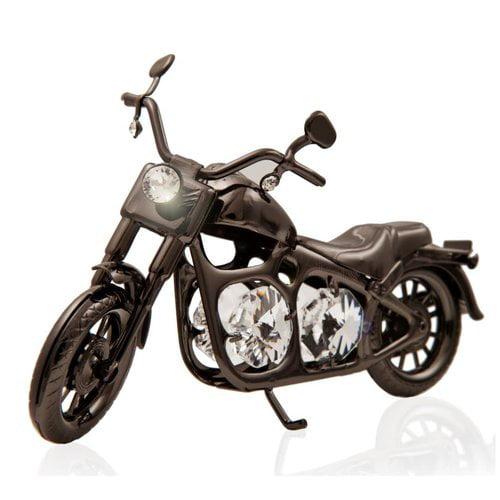 Matashi Crystal Charcoal Metal Model Motorcycle by Supplier Generic