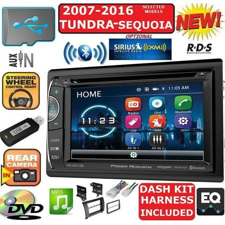 2007-2016 TUNDRA-SEQUOIA BLUETOOTH USB CD/DVD CAR RADIO STEREO PKG
