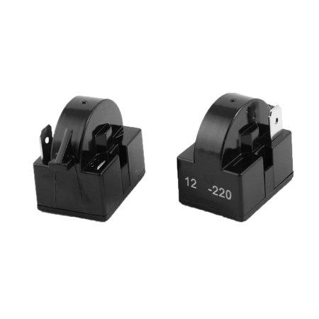 black plastic housing 12 ohm 1 pin refrigerator ptc. Black Bedroom Furniture Sets. Home Design Ideas