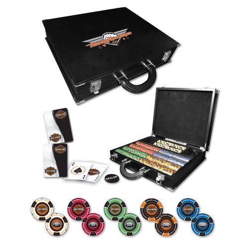 Dart World H-D Professional Leather Poker Set