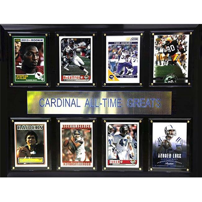 CandICollectables 1215ATGSTANFORD NCAA Football 12 x 15 in. Stanford Cardinal All-Time Greats Plaque - image 1 de 1