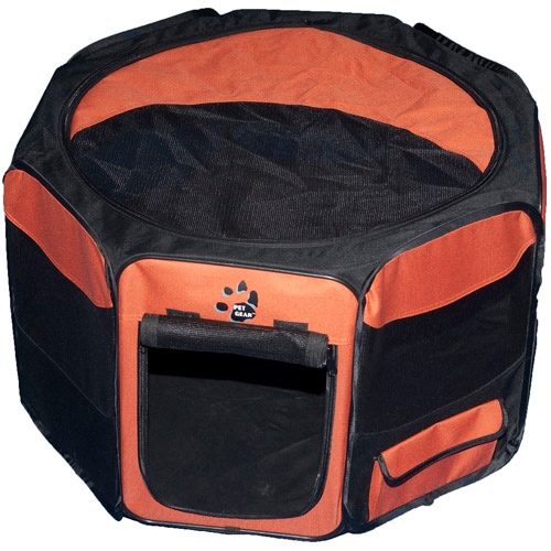 """Pet Gear Travel Lite Soft-Sided Pet Pen with Removable Top, 27"""" X 27"""" X 18"""""""