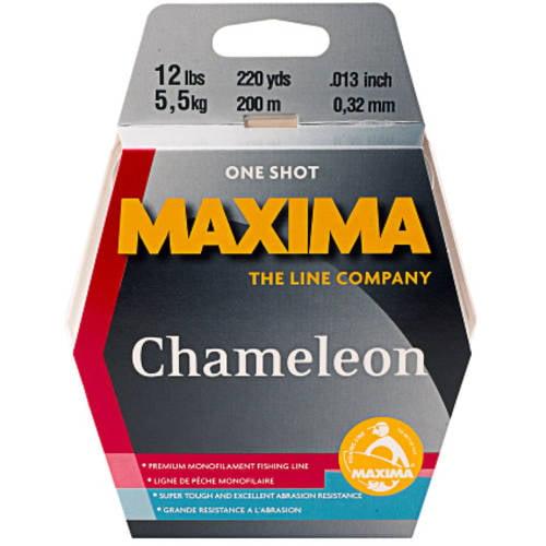 Maxima Chameleon Fishing Line One Shot Spool by Maxima