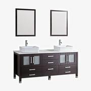 Kokols Duma 72 in. Double Bathroom Vanity Set