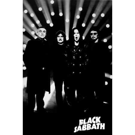 Sabbath Light - Buyartforless Black Sabbath Spotlights 36x24 Music Art Print Poster