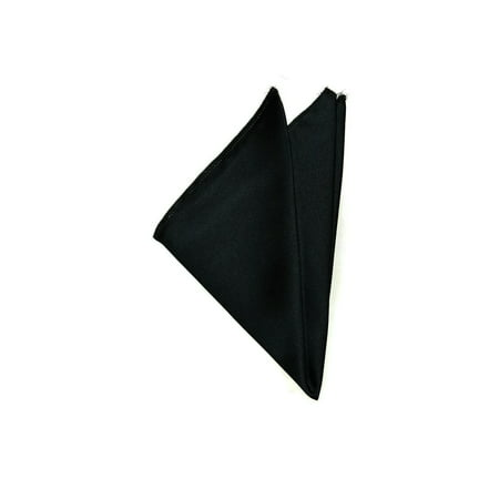 Pocket Square Hankerchief Deluxe Poly Satin ()