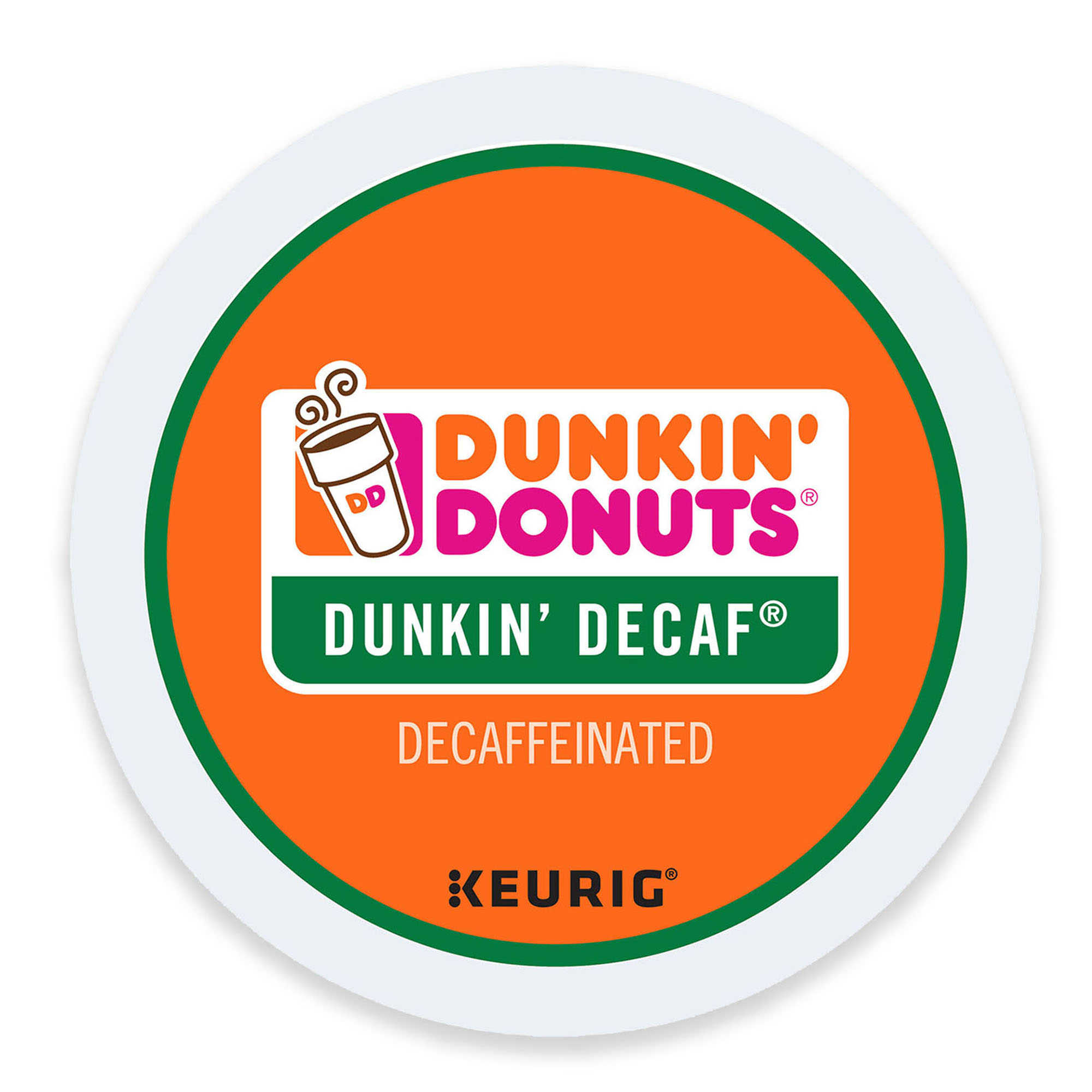 Dunkin' Donuts Decaf, K-Cup Portion Pack for Keurig Brewers, 96 Count