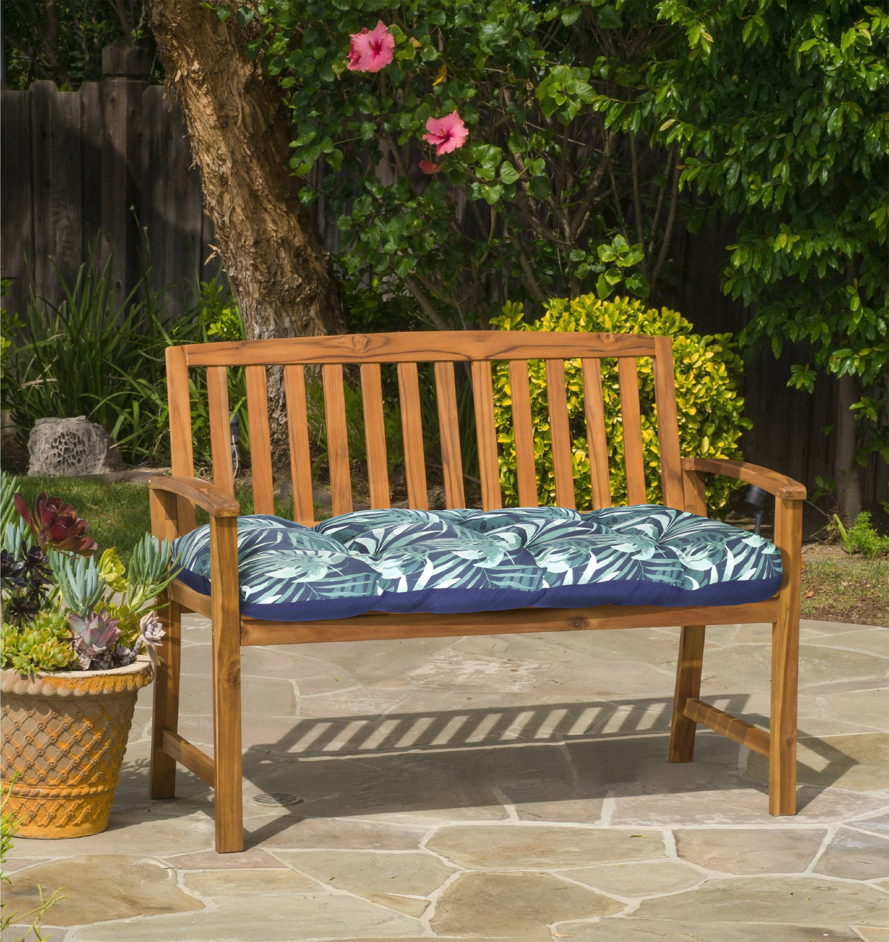designer today needles home all inch cushion overstock bench outdoor garden product free weather blazing shipping
