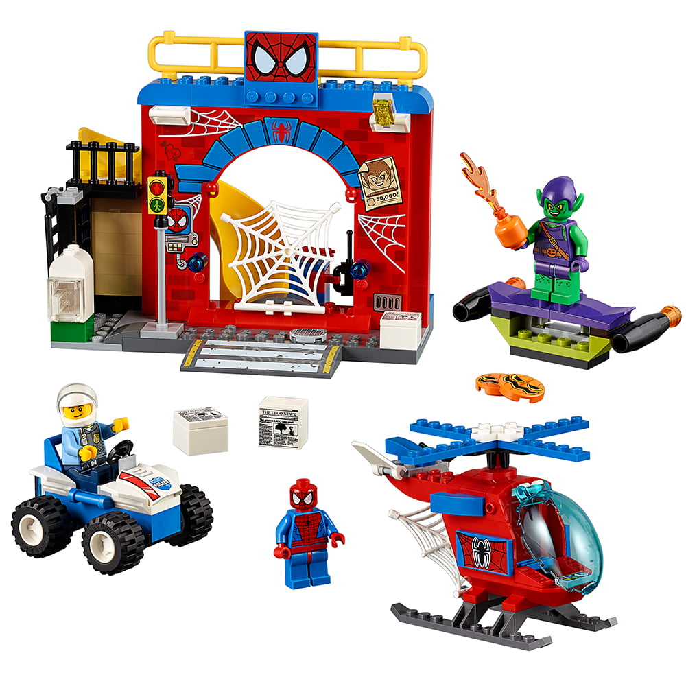 Lego Juniors Spider-Man Hideout 10687 by LEGO System Inc
