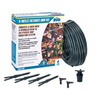 Dig Sprinkler Head to Drip Irrigation Retrofit Drip Kit