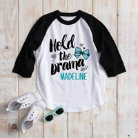 Hold the Drama Youth Sports Jersey