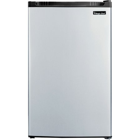 Magic Chef 4.4 Cu Ft Refrigerator with Freezer MCBR440S2, (Best Magic Chef Electric Range)