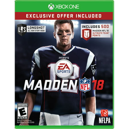 Madden NFL 18 Limited Edition, Electronic Arts, Xbox One, WALMART EXCLUSIVE, (Best Madden Mobile Team 18)