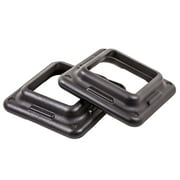 The Step Original Health Club Aerobic Step Risers in Black/Gray for Use with The Step Aerobic Platform