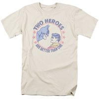 Dc - Two Heroes - Short Sleeve Shirt - XXX-Large