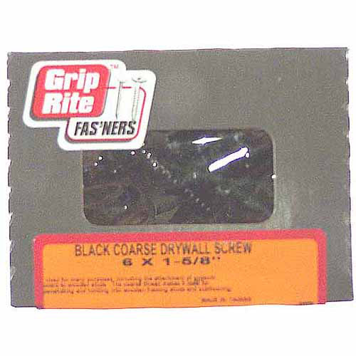 Grip-Rite #2 x 1-5/8 in. Phillips Bugle Head Coated Drywall Screws (5 lb.-pack)