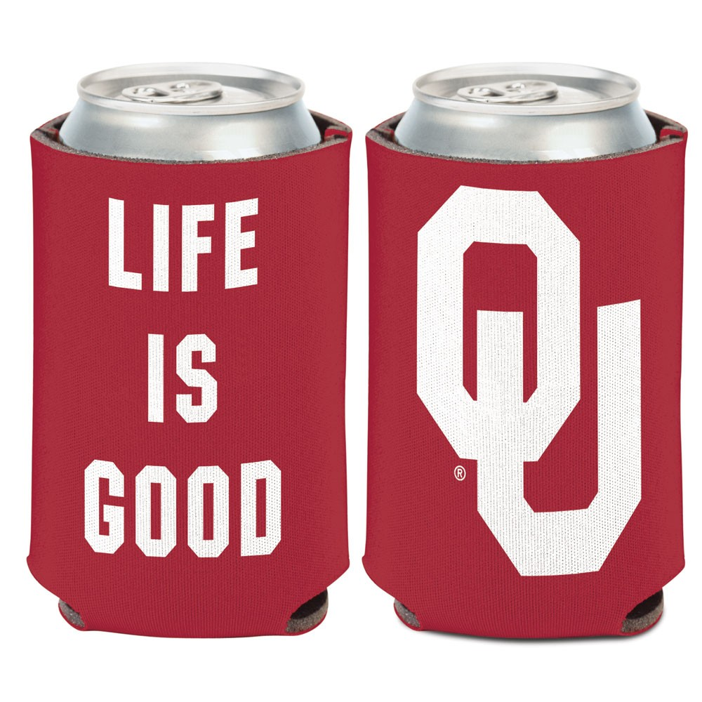 Official NCAA Life is Good Coozie by Wincraft