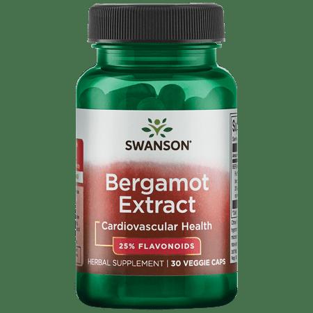 Swanson Bergamot Extract 500 mg 30 Veg - Skull Cap Herb Extract