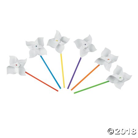 DIY Pinwheels - 24 pcs.(pack of - Diy Pinwheels