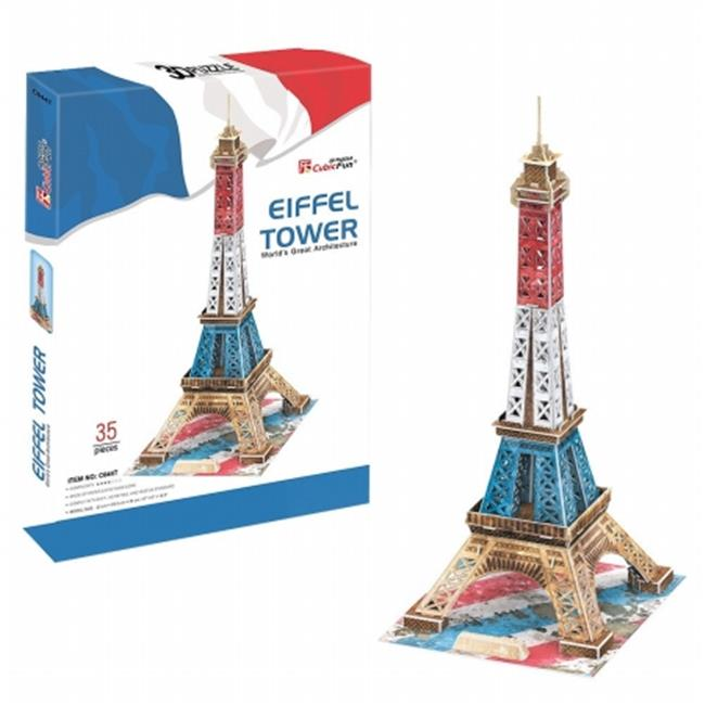 Primo Tech C044T 3D Puzzle - Eiffel Tower - Special Color