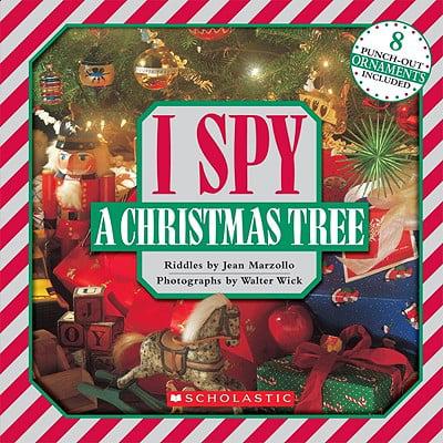 I Spy a Christmas Tree - Halloween I Spy Printables