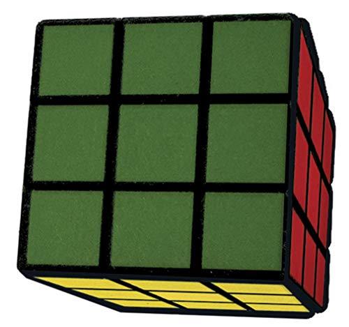 iscream Old School Rubiks Cube Set of 4 3D Mini Erasers