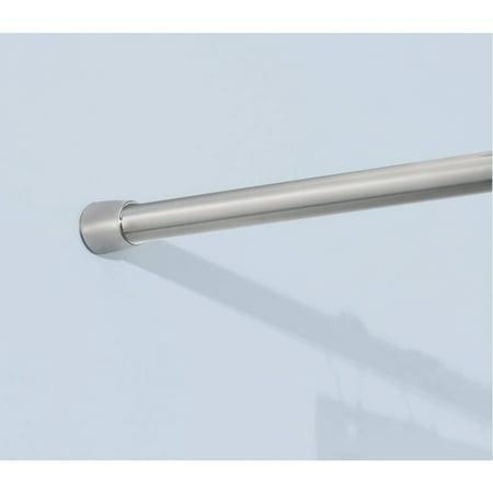 InterDesign Stainless Steel Shower Curtain Tension Rod - Walmart.com