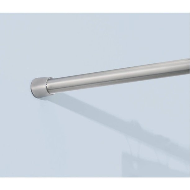 Interdesign Stainless Steel Shower, How To Put Up Tension Shower Curtain Rod