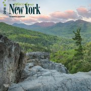 New York, Wild & Scenic 2018 12 x 12 Inch Monthly Square Wall Calendar