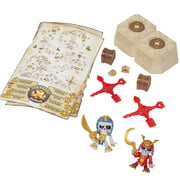 Treasure-X Adventure Pack, 2-Pack Dig and Discover Collectible Figures
