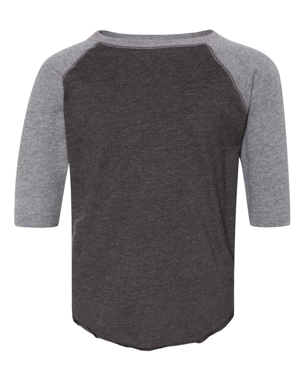 Rabbit Skins Fine Jersey Toddler Three-Quarter Sleeve Baseball T-Shirt 3330