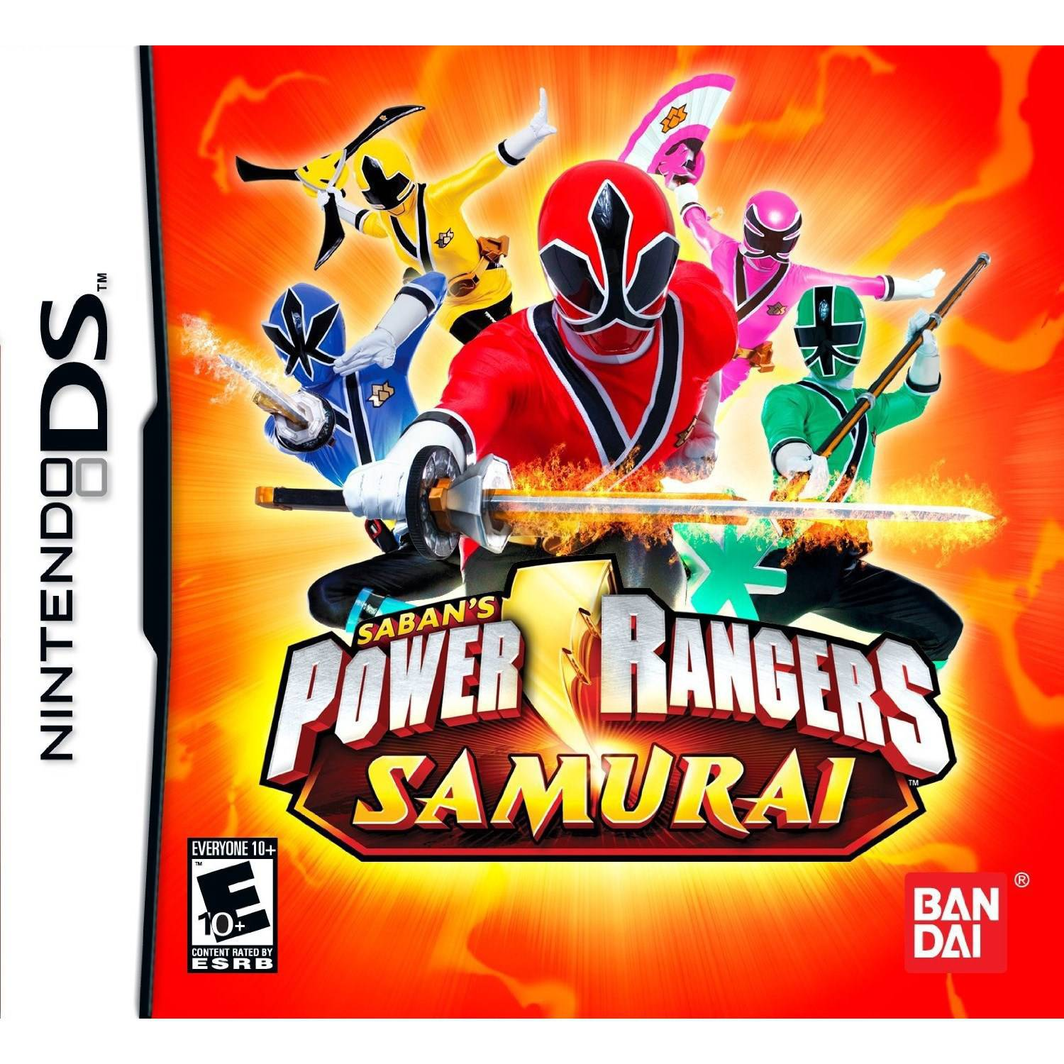 Power Rangers Samurai (DS)