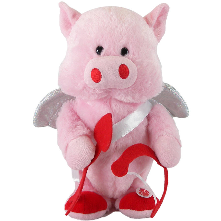 Dancing Cupid Musical Plush Toy - Cupid Shuffle