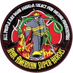 Fighter Wing Patch - Firefighter
