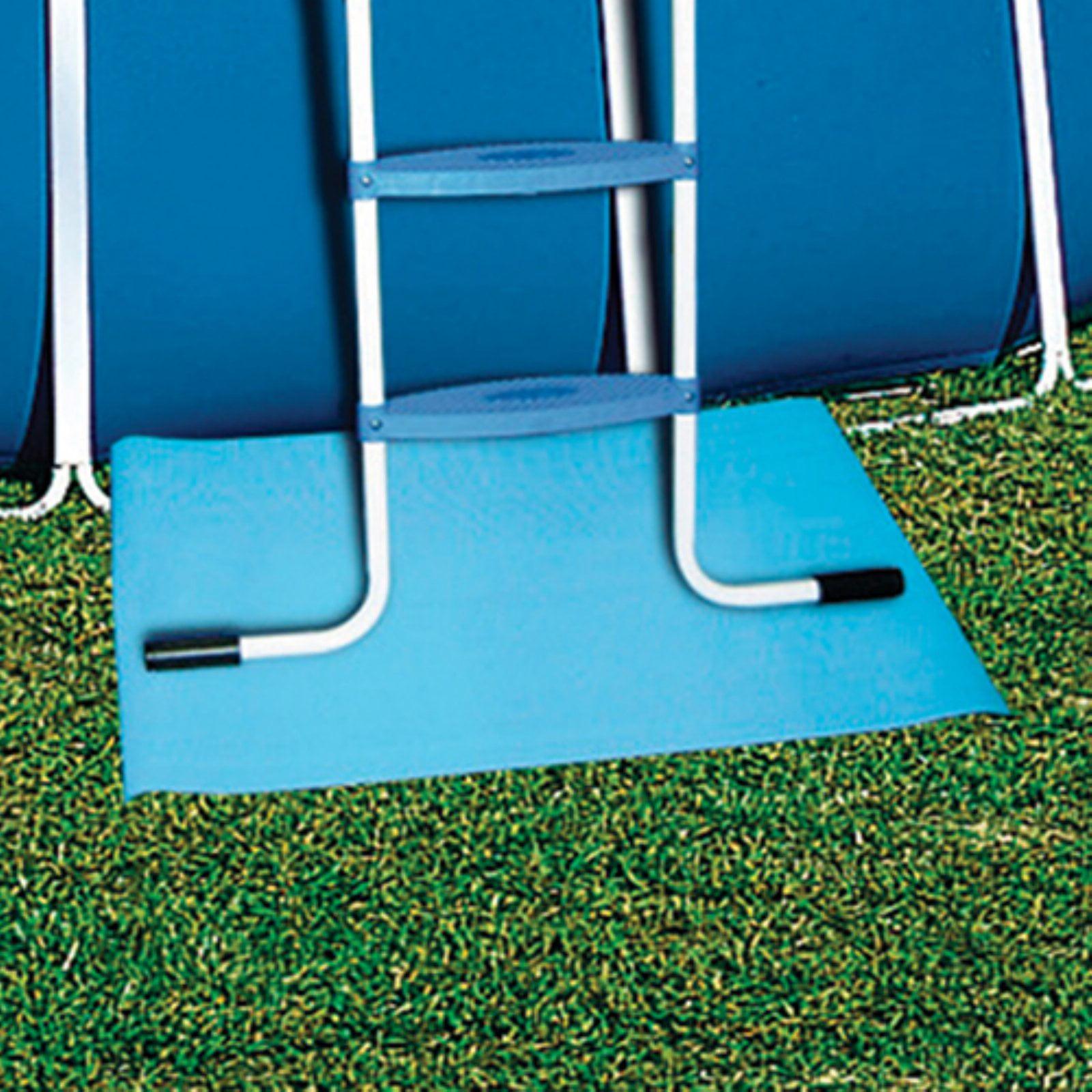 Poolmaster above ground swimming pool ladder pad 24 - Above ground swimming pool step pad ...