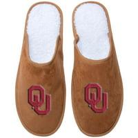 Oklahoma Sooners Slide Moccasins - Tan