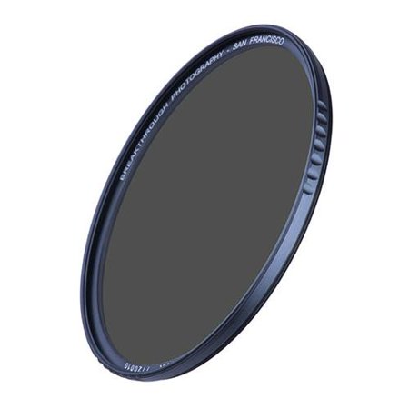 Breakthrough Photography 82mm X2 ND Traction Filter, 6 Stop, Weather Sealed Traction Frame, AGC