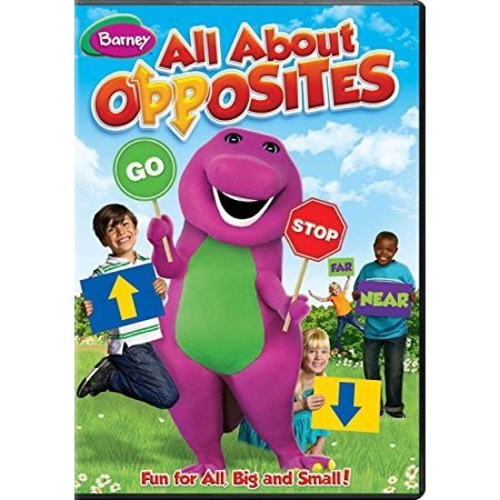 Barney: All About Opposites (DVD) ()