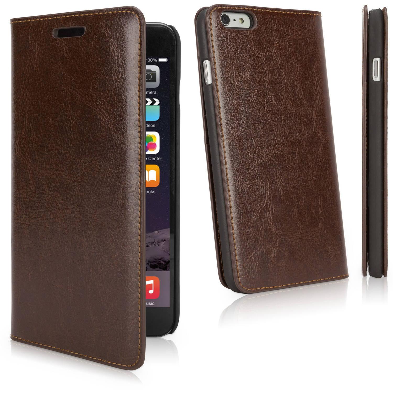 BoxWave Designio Leather Wallet Case for Apple iPhone 6 Plus/6s Plus