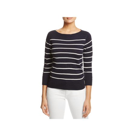 - Cupcakes and Cashmere Womens Reynolds Striped Boatneck Pullover Sweater