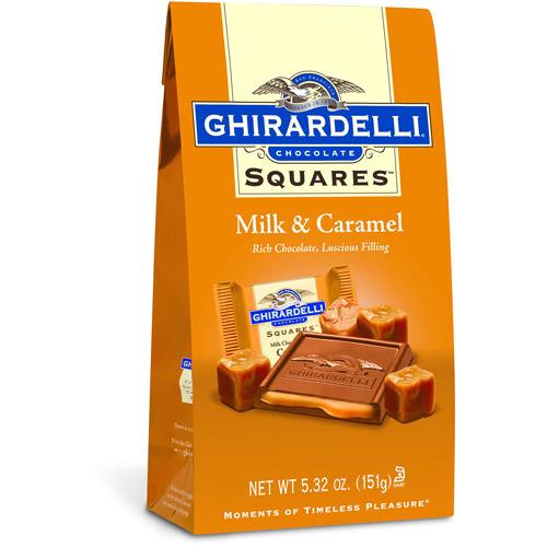 Ghirardelli Chocolate Squares Milk & Caramel Chocolate, 5.32 oz