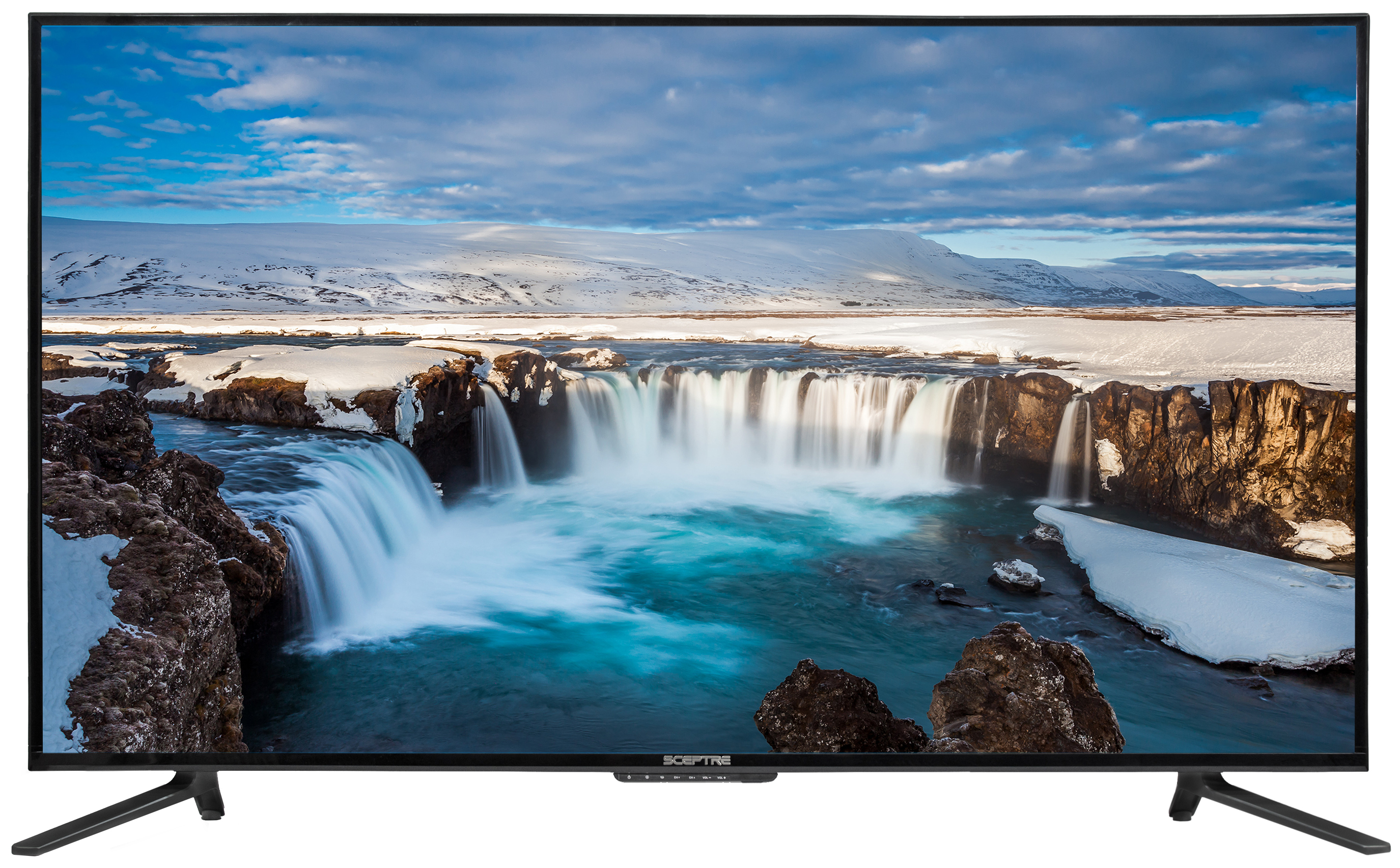 "Sceptre 55"" Class 4K Ultra HD (2160P) LED TV (U550CV-U) by Sceptre"