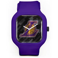 Los Angeles Lakers Modify Watches Unisex Silicone Watch - Purple - No Size