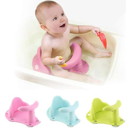 1-3 years old Baby Bath Tub Ring Seat Infant Toddler Kids Anti Slip ...