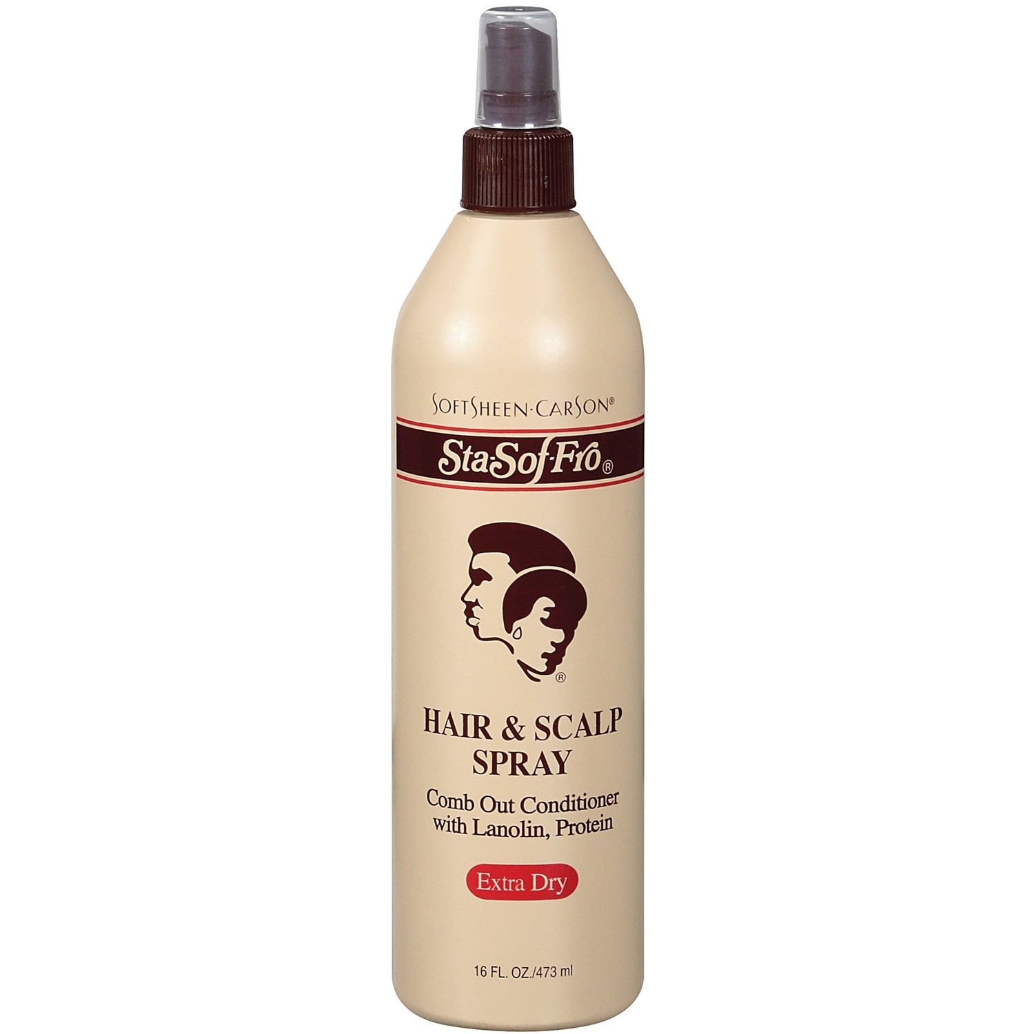 SoftSheen-Carson Sta-Sof-Fro Hair & Scalp Spray Comb Out Conditioner with Lanolin