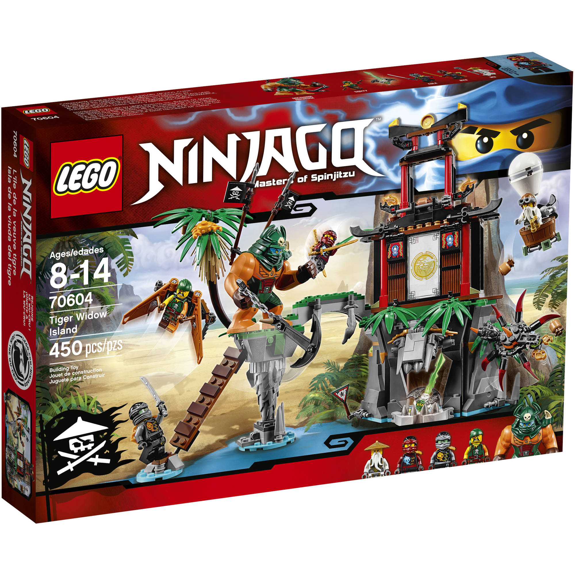 Lego Toys At Walmart : Lego ninjago garmadon s dark fortress set walmart