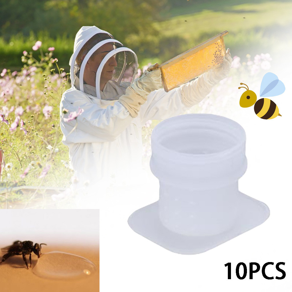 Beekeeping Honey Entrance Feeder Hive Tool Beekeeper Bee Keeping Equipment10pcs