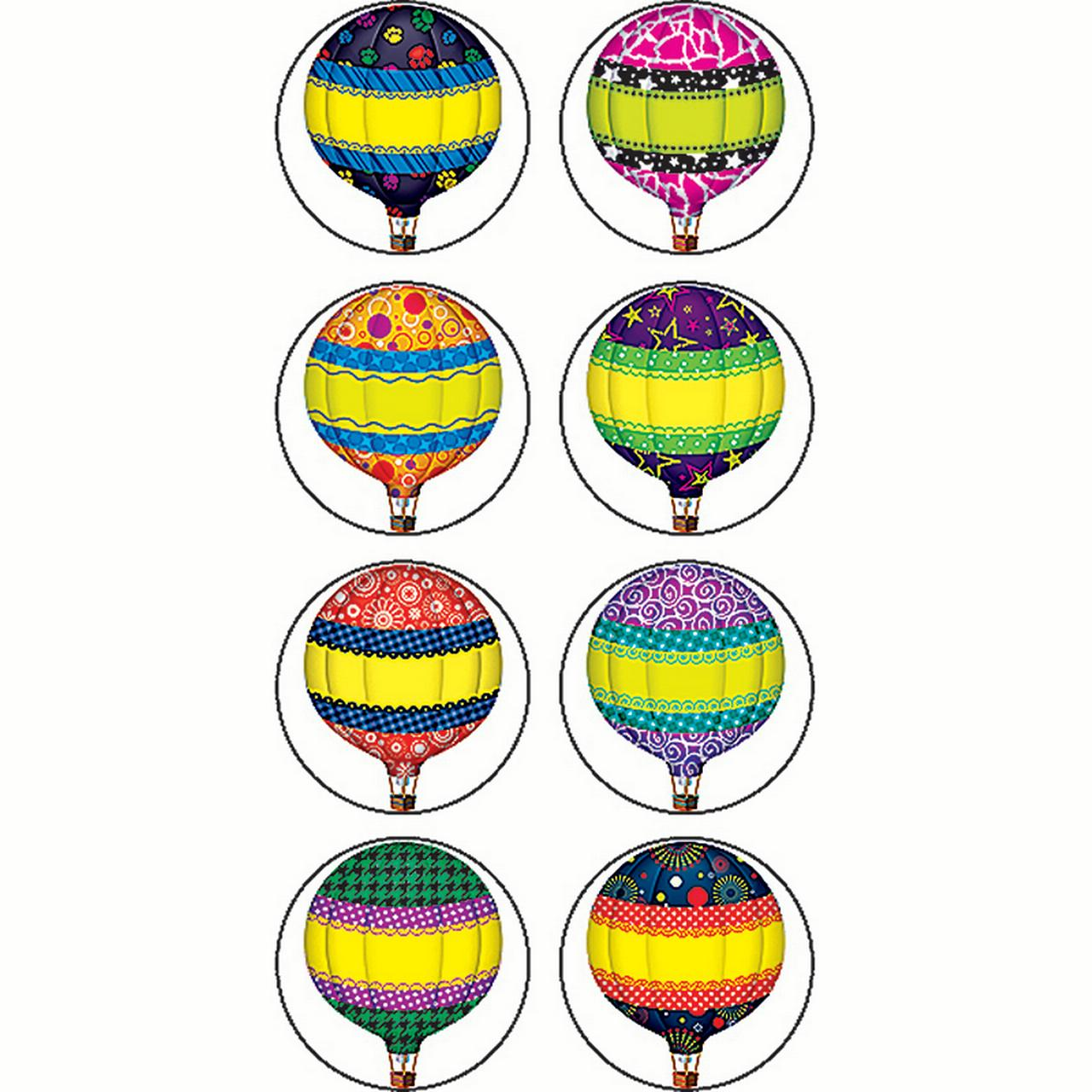 HOT AIR BALLOONS MINI STICKERS
