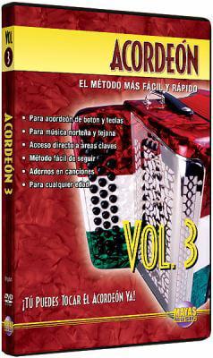 Acordeon: Tu Puedes Tocal El Acordeon Ya! (Spanish Language Edition), Dvd by